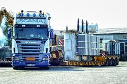 Transport ponadgabarytowy Radomsko - PHU Kolmet